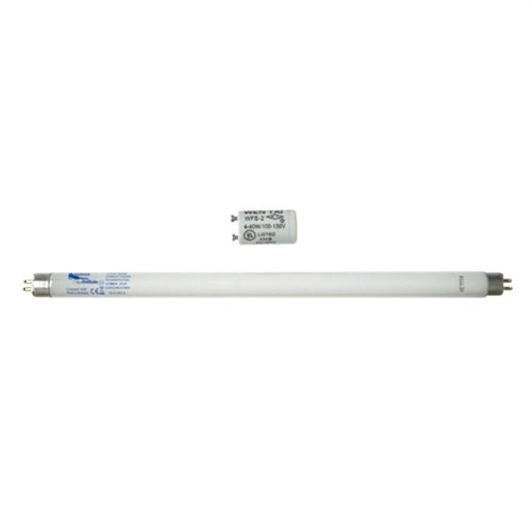 把握ソブリケット使用法家庭用日焼けマシン ネオタン用 交換用消耗品セット (UVランプ?チューブ(蛍光管)*1本(15W?29cm)、S2グロースターター*1個(S-2タイプ)