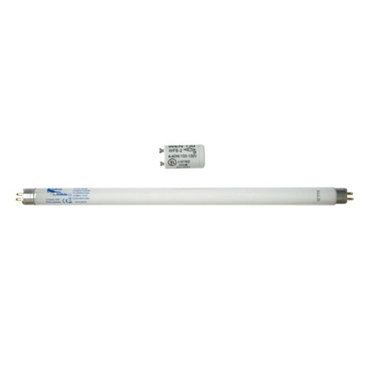 端傾向がある風家庭用日焼けマシン ネオタン用 交換用消耗品セット (UVランプ?チューブ(蛍光管)*1本(15W?29cm)、S2グロースターター*1個(S-2タイプ)