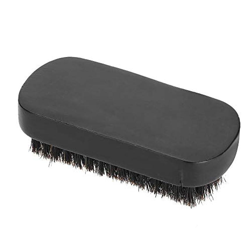 操るやむを得ない台風Nitrip シェービングブラシ ひげブラシ くし コーム ひげケア 理容 髭剃り 男性用 ブナ 便利(#2)