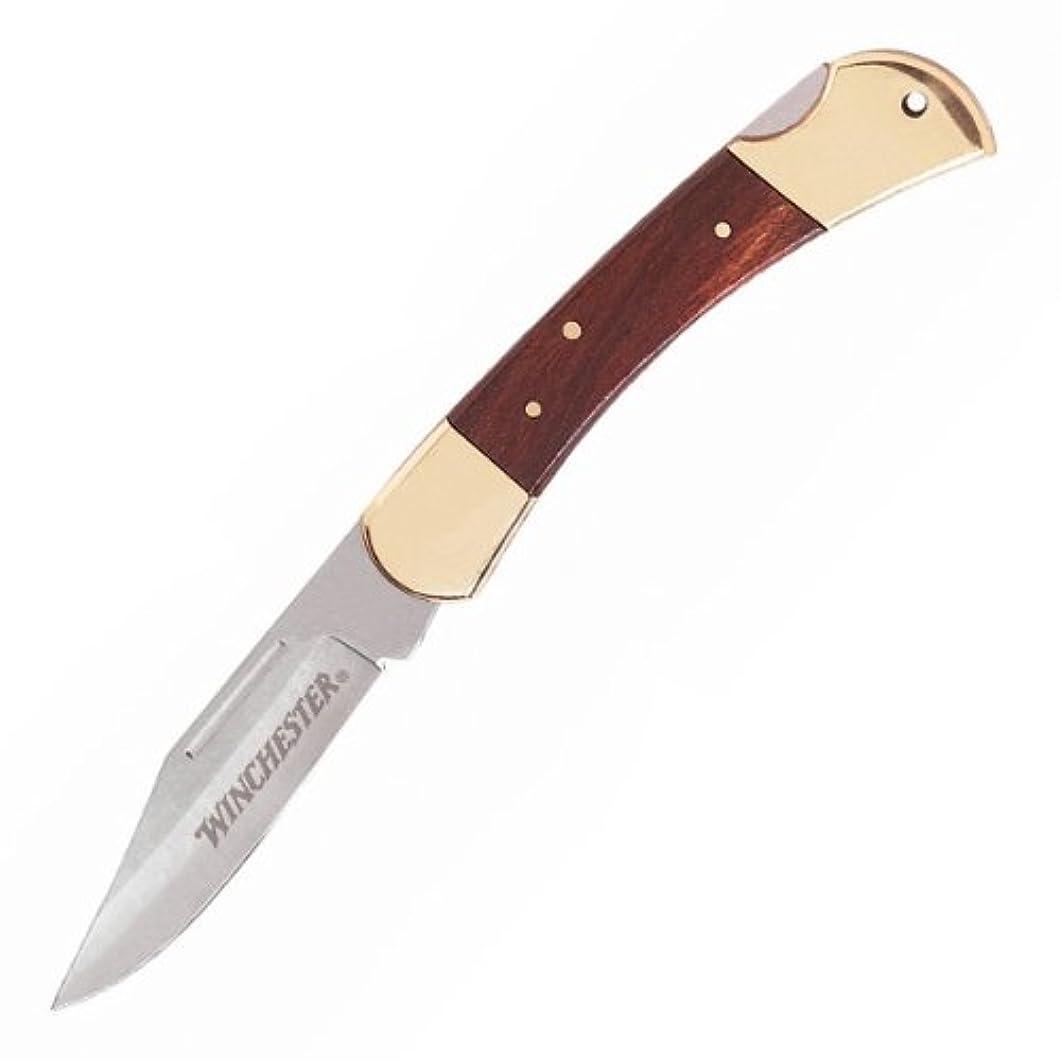 ペネロペジョイント音声ウィンチェスター 折りたたみナイフ ブラスフォルダー 3.25インチ