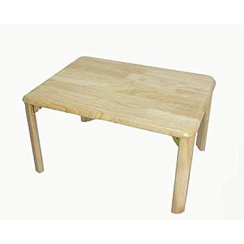 木製 折り畳み 丈夫な座卓 ローテーブル (幅60×奥行45) ナチュラル hd-6045 na