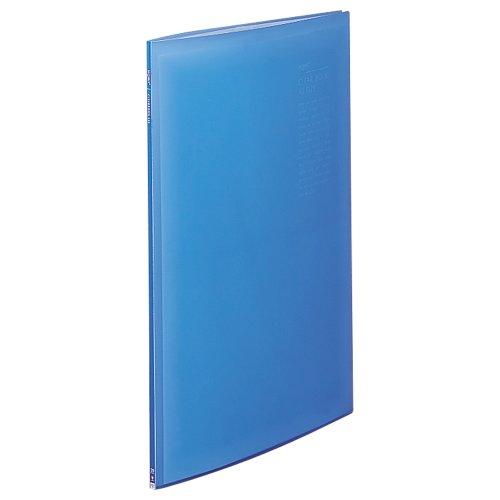 リヒトラブ クリヤーブック G3117-8 A2L 20ポケット ブルー