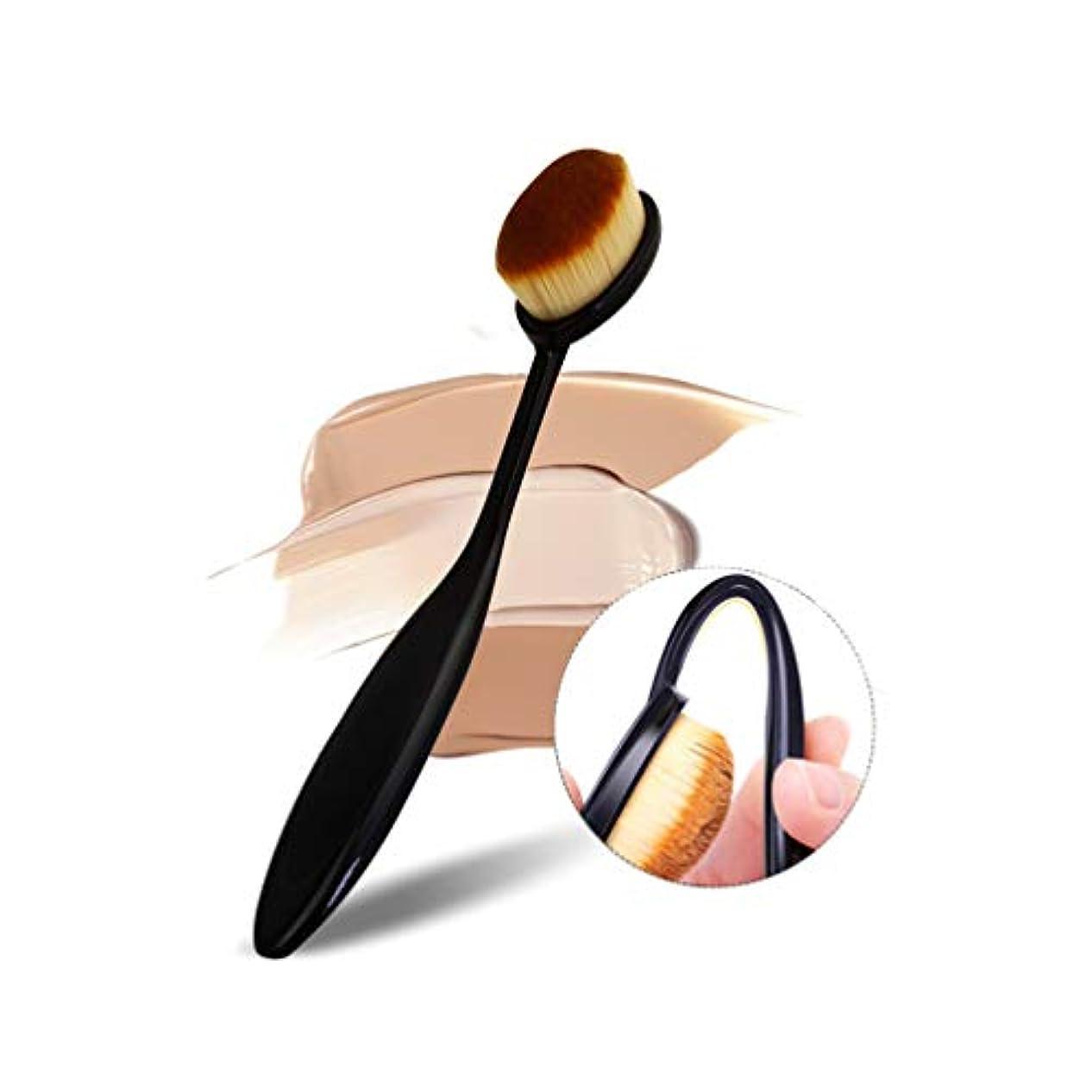 存在するスイングマイルSHARE BEAUTY メイクブラシ ファンデーションブラシ 歯ブラシ型 可愛い 人気 おしゃれ きめ細やかな繊維毛 柔らかい 多機能 シングル メイクアップツール 高品質 軽量 携帯便利 通勤、出張、旅行、自宅用 敏感肌適用...
