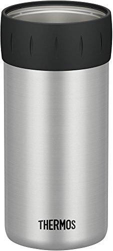 サーモス 保冷缶ホルダー 500ml缶用 シルバー JCB-500 SL