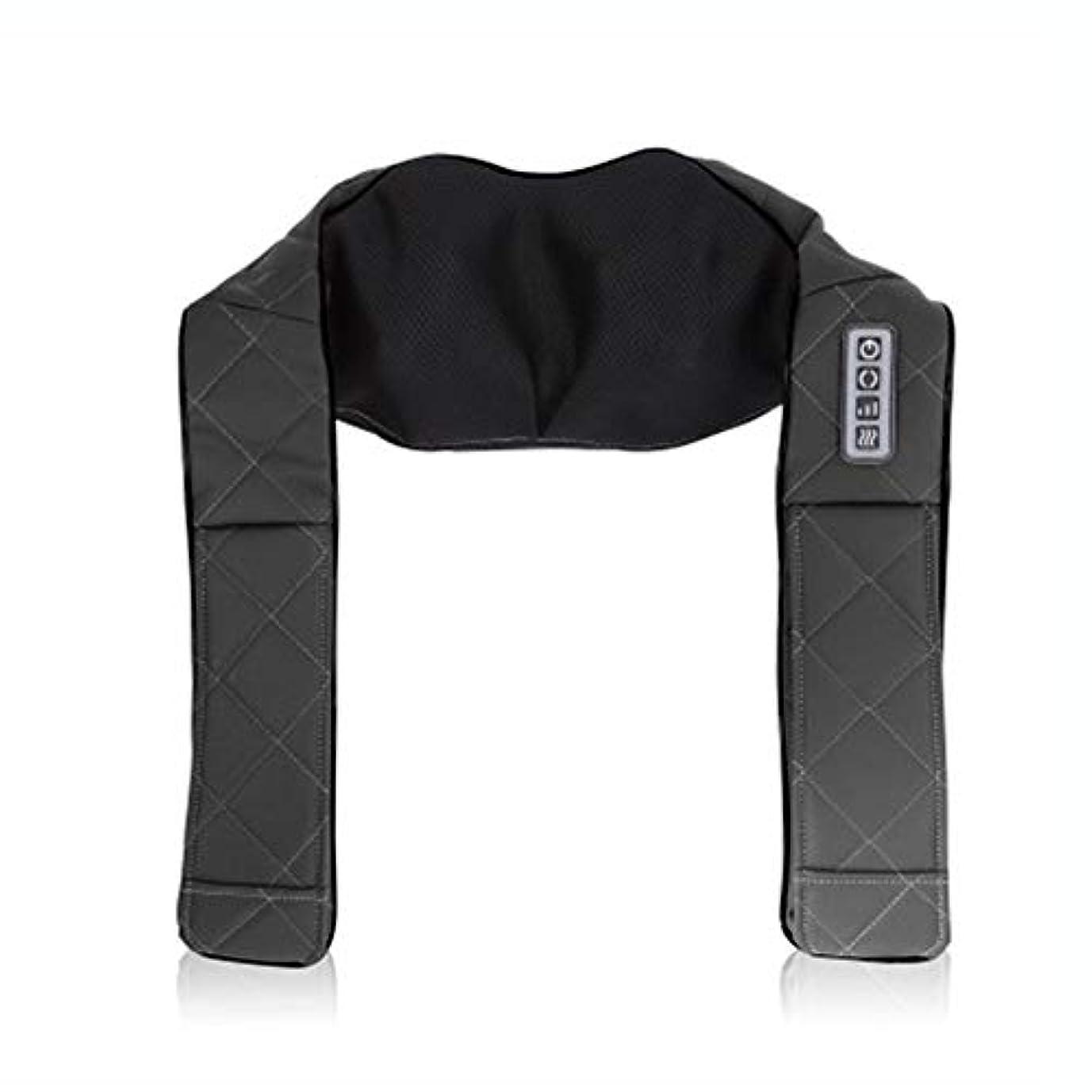 頑張る流すマットNOBRAND 肩と首のマッサージヒーティングW/マッサージボールサーマルマッサージリラックス痛みを軽減 Shoulder and Neck Massager Heating W/massage Ball Thermal Massage Relax Pain Relief 100V ~ 240V