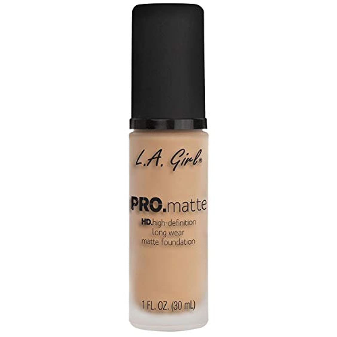 よく話される梨ドキュメンタリー(6 Pack) L.A. GIRL Pro Matte Foundation - Nude (並行輸入品)