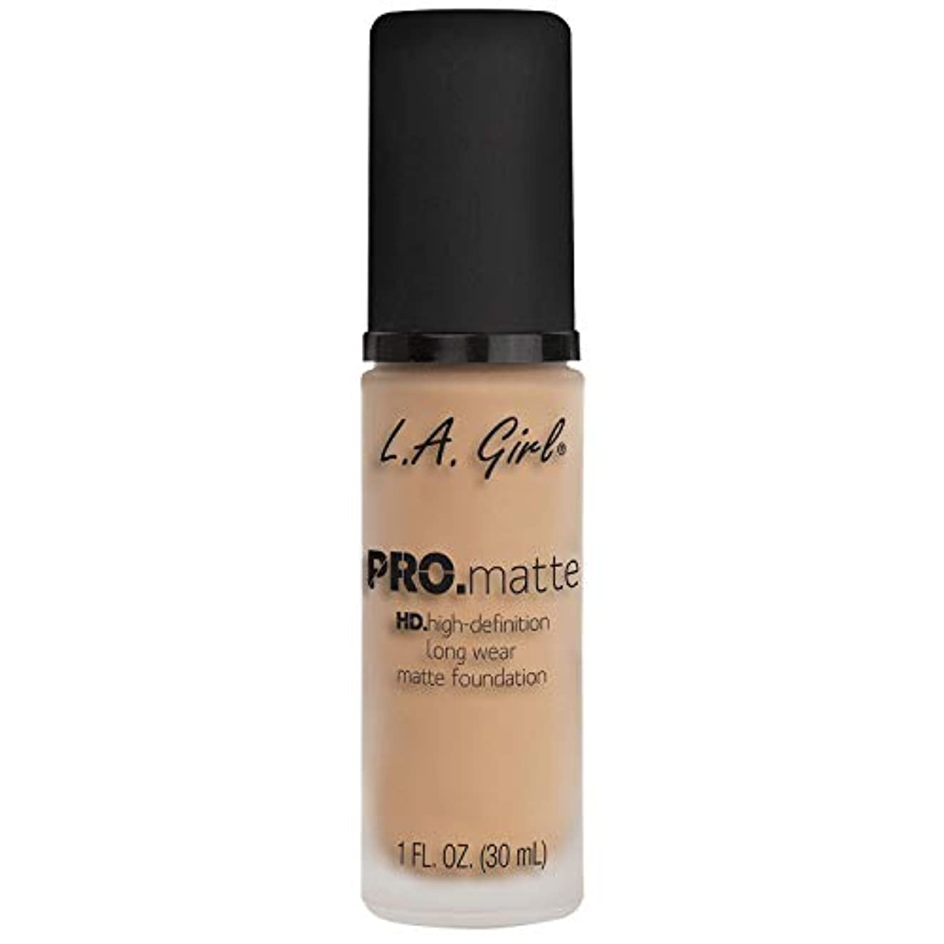 奇跡プレート意識(6 Pack) L.A. GIRL Pro Matte Foundation - Nude (並行輸入品)