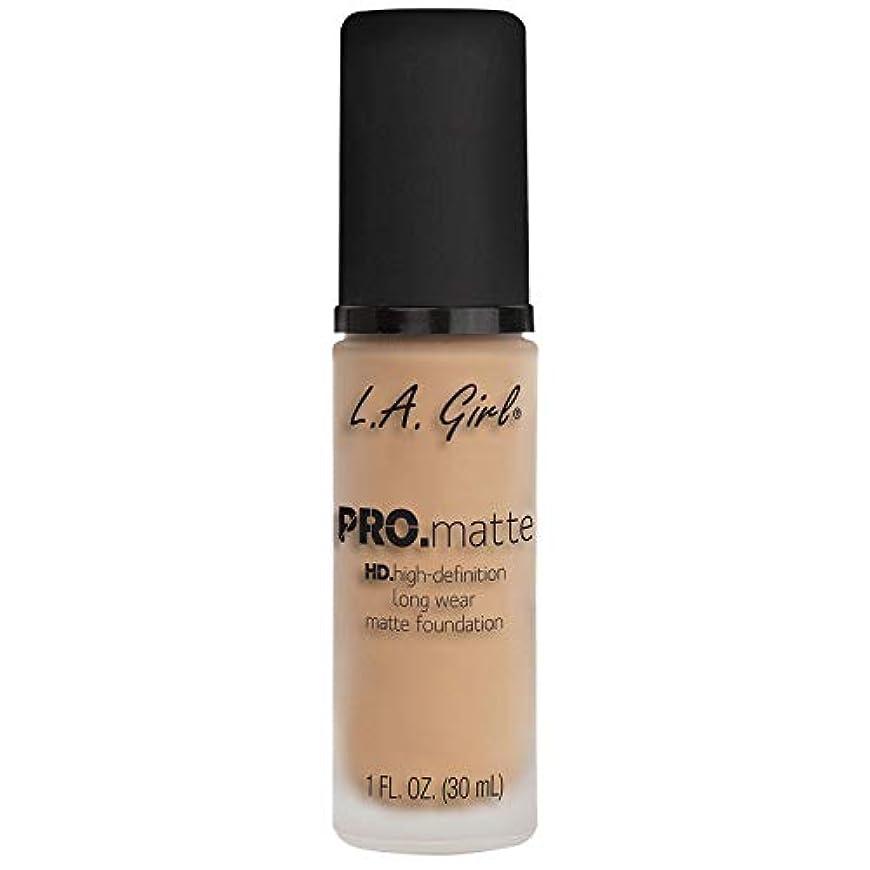 常識転送ピット(6 Pack) L.A. GIRL Pro Matte Foundation - Nude (並行輸入品)