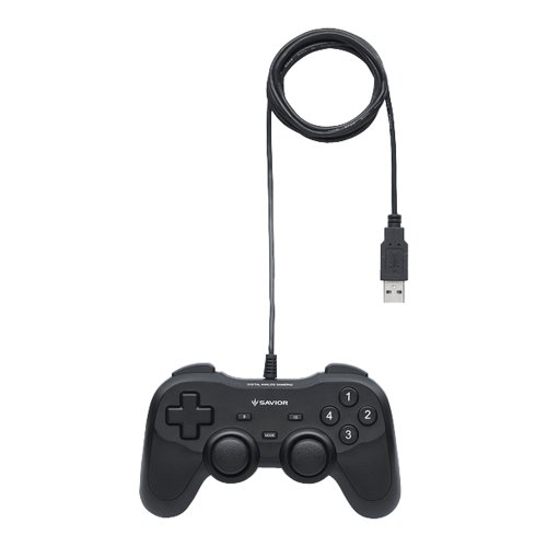 iBUFFALO USBゲームパッド 12ボタン 振動機能付 ブラック 【ドラゴンズドグマ オンライン 動作認定モデル】 BSGP1204BK