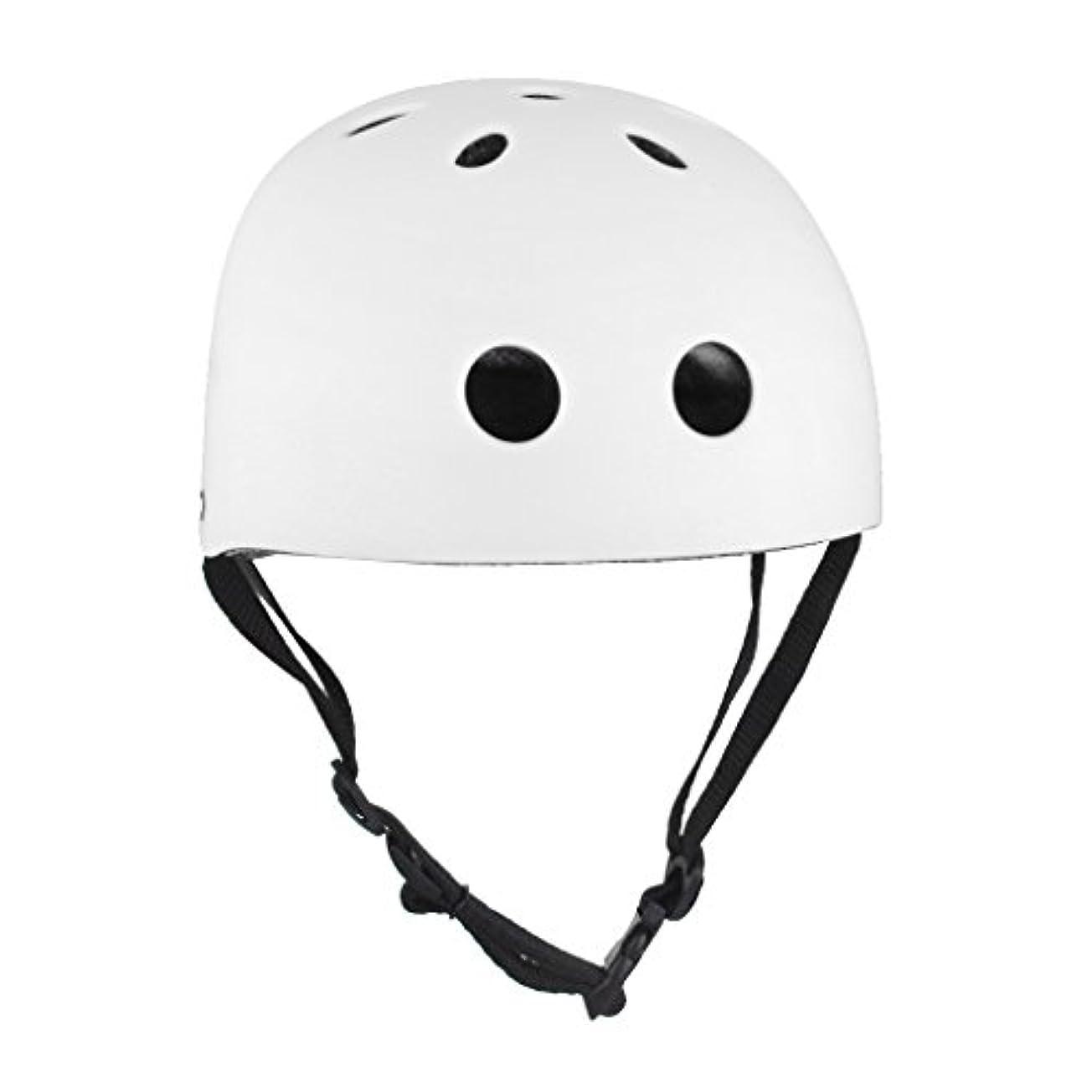 骨折リゾートスリーブ【ノーブランド品】自転車 保護 ヘルメット 安全 保護 帽子 防災帽子 Lサイズ 白
