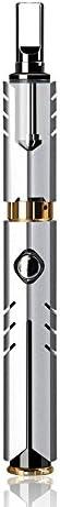 電子タバコ スターターキット COOFINE ベイプ 40W 最新モデル VAPE 禁煙サポート 日本語取扱説明書付き ニコチン無し 三ヶ月メーカー保証付き 視覚化タンク(シルバー)