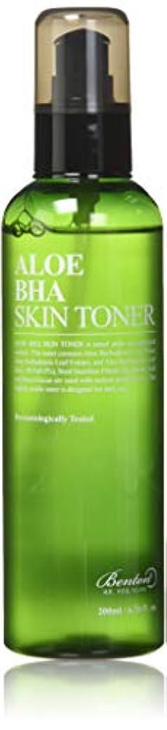 宿る適合しました解明BENTON Aloe BHA Skin Toner (並行輸入品)