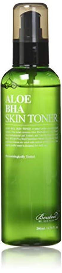 敬の念添付チロBENTON Aloe BHA Skin Toner (並行輸入品)
