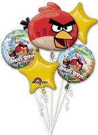 大人気 アングリーバード おもちゃ 直輸入 日本未発売 ゲーム ブロック テーブルゲーム Angry Birds Party Supplies Mylar Foil Metal Balloon Boquet【JOY】