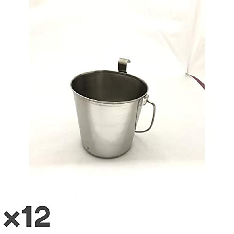 場所炭素通行料金トムキャット ステンレス食器 バケツ 1.8L ×12入