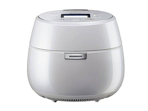 三菱電機 IHジャー炊飯器 本炭釜「KAMADO」 5.5合炊き プレミアムホワイト NJ-AW107-W