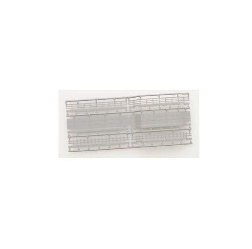 TOMIX Nゲージ 3054 ワイドレール用壁S70・信号用 (6種×8枚入)