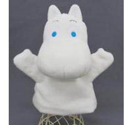 ムーミン ハンドパペット ぬいぐるみ  ムーミン 高さ約22cm