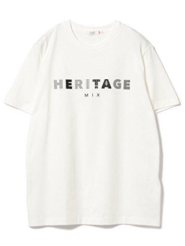 (ビームスライツ) BEAMS LIGHTS/HERITAGE プリントTシャツ 51040457012 MEDIUM ホワイト