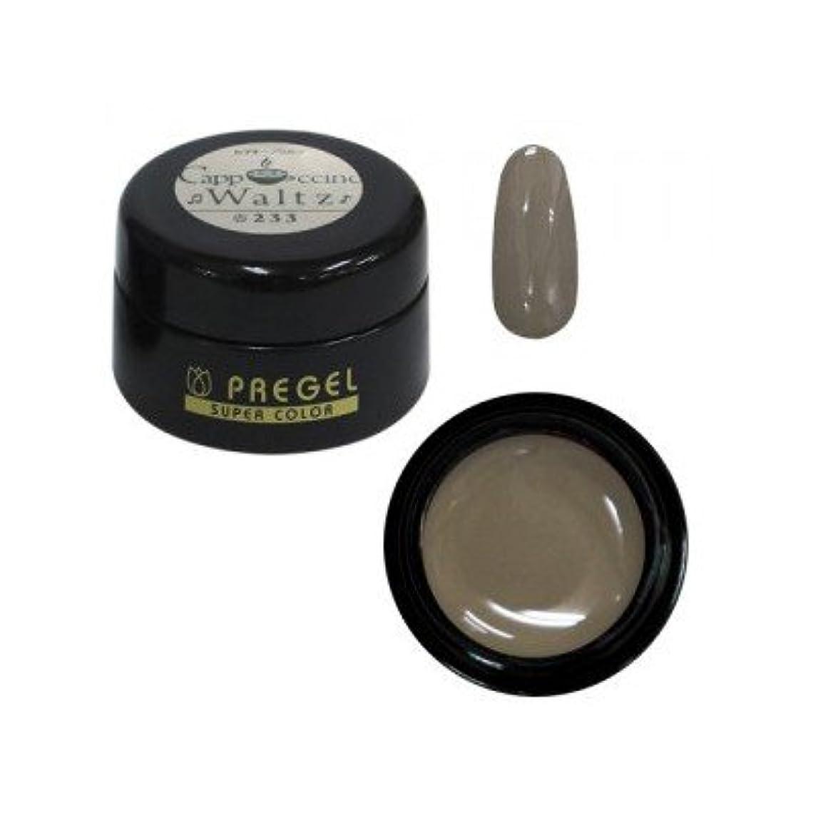 バンジョー透けるケーププリジェル カラーEX カプチーノワルツ PG-CE233 4g