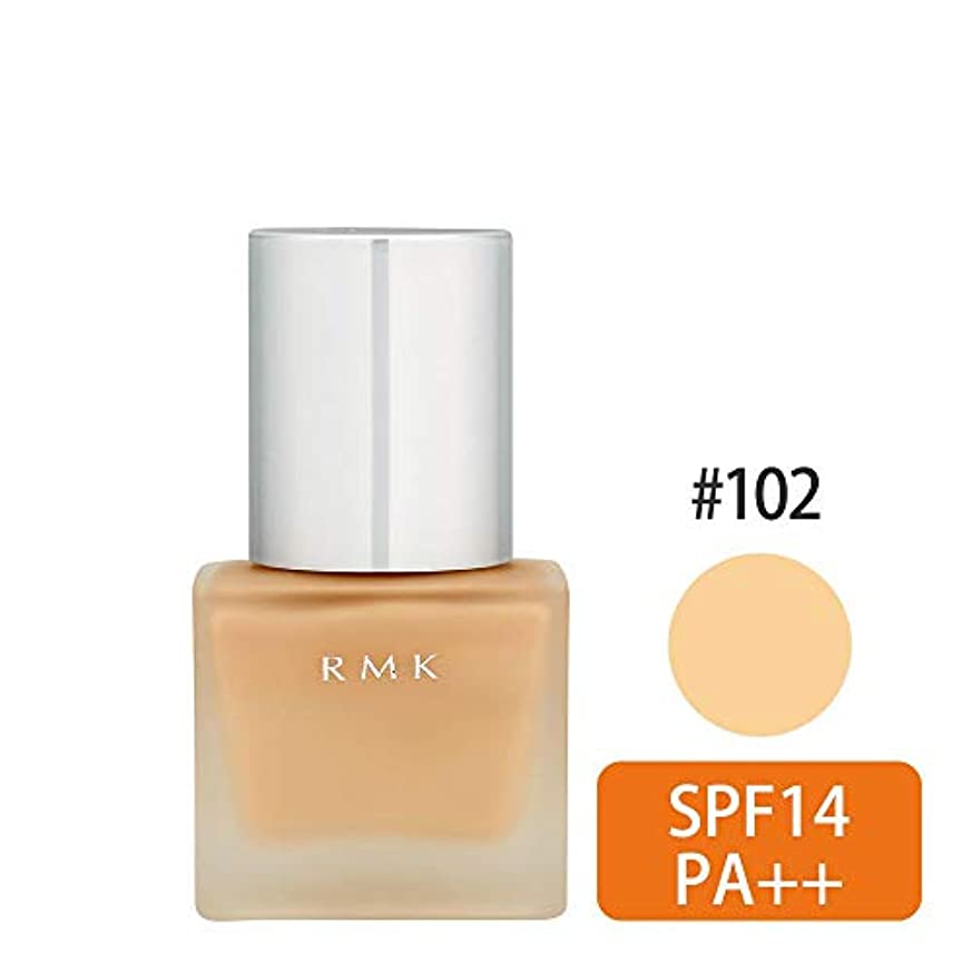売上高取り出す暖かくRMK リクイドファンデーション SPF14 PA++ 102 [並行輸入品]