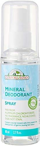 Corpore Sano Deodarant Mineral Spray, 80ml