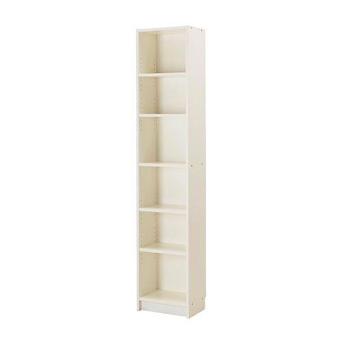 イケア BILLY 書棚 ホワイト W40xD28xH202 IKEA