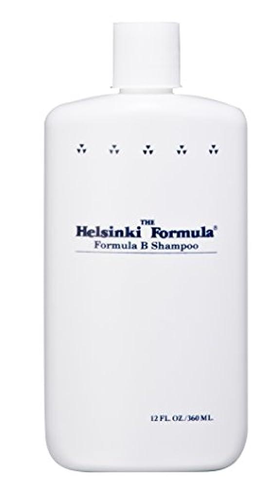 もの楕円形利得ヘルシンキ?フォーミュラ フォーミュラBシャンプー 360ml(皮脂汚れ乳化剤配合シャンプー)