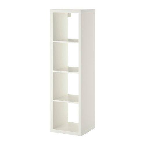 RoomClip商品情報 - IKEA KALLAX シェルフユニット ホワイト 42×147cm 80275849
