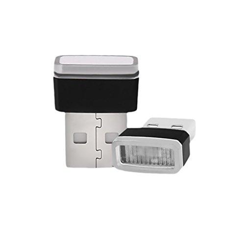 TAUWELL高品質 USB LED イルミライト 車用 U...