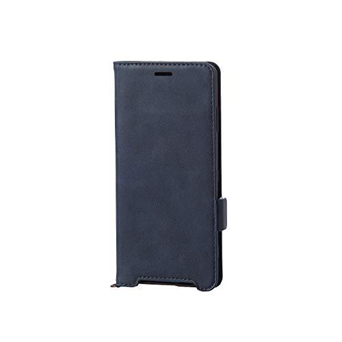 エレコム Xperia XZ3 ケース SO-01L SOV39 手帳型 レザー ICカード収納 サイドマグネット スタンド機能付き...