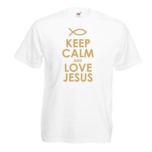 男性用Tシャツキリスト教の神イエス VACOM E-COMMERCE LLP