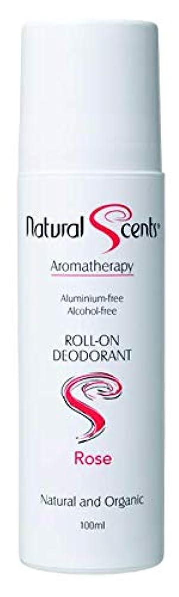 地殻膨らみ砂漠【NATURAL SCENTS】Roll-on Deodorant Rose ナチュラルセンツ ロールオンデオドラント ローズ 100ml