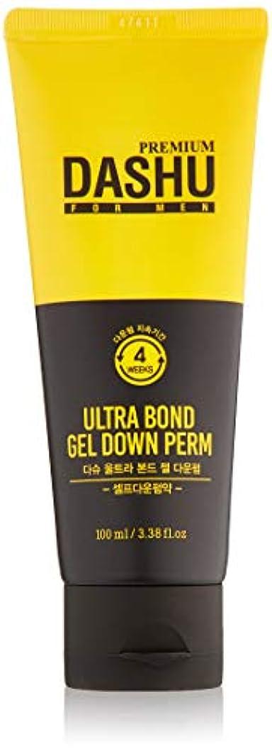 論争の的服を着るアンドリューハリディダシュ 男性用 ウルトラボンドジェル ダウンパーマ 100ml / Dashu for Men Ultra Bond Gel Down Perm