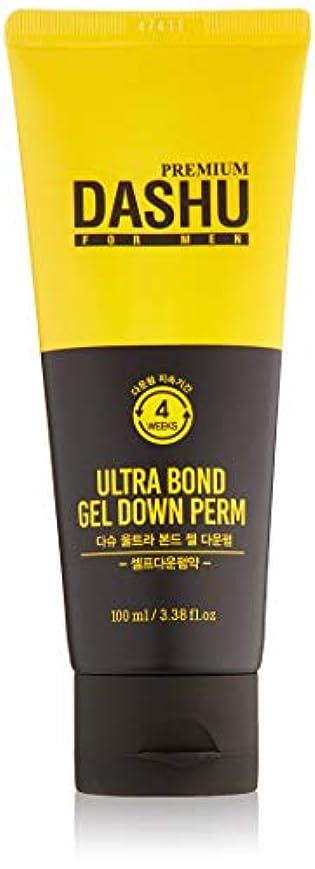 永久破裂ジョージエリオットダシュ 男性用 ウルトラボンドジェル ダウンパーマ 100ml / Dashu for Men Ultra Bond Gel Down Perm