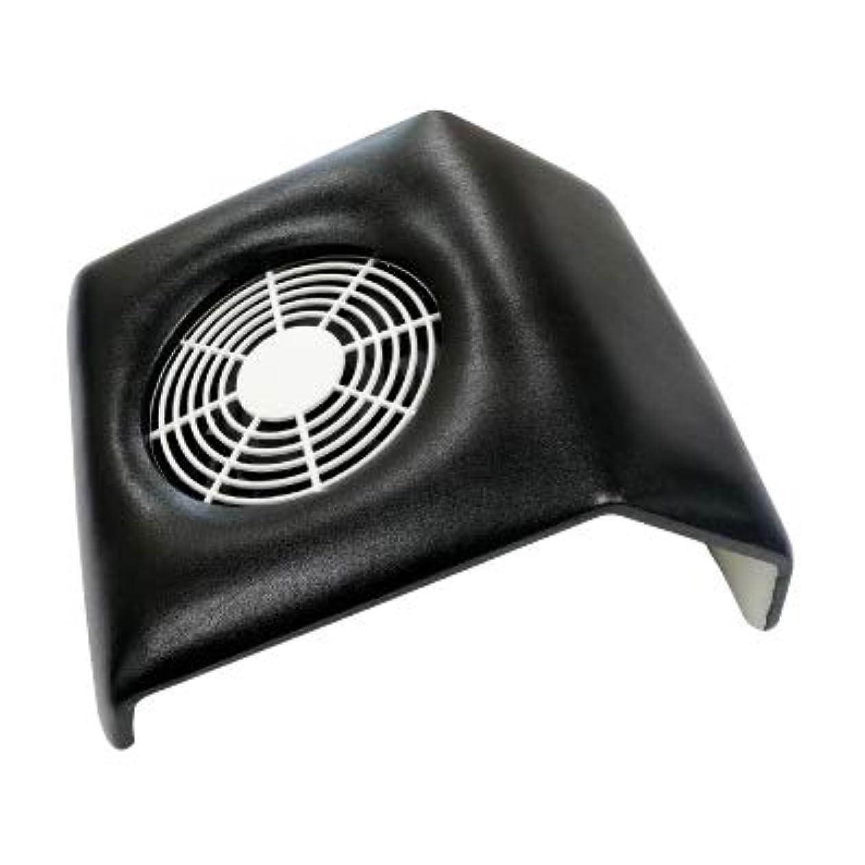 降下社員状態集塵機 コンパクトタイプ ネイルダストクリーナー Compact Nail Dust Cleaner バッグ付き ネイルオフ ダストコレクター (ブラック)