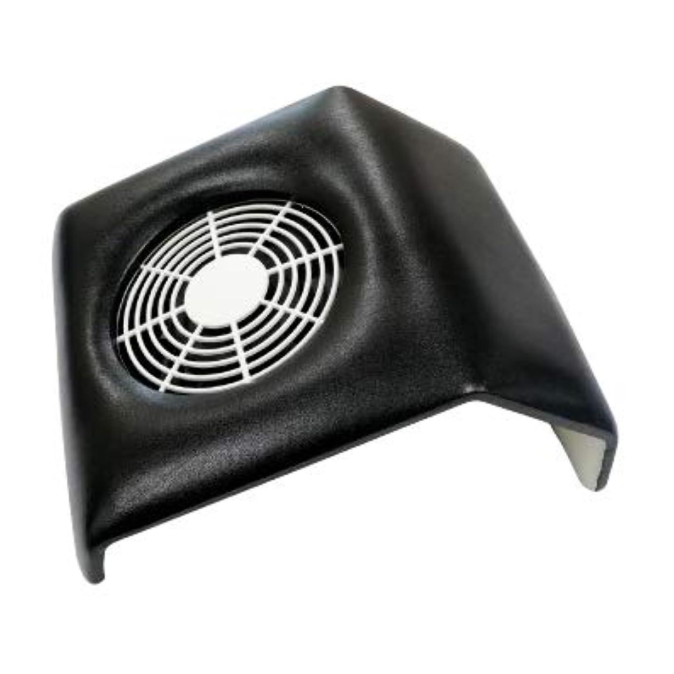 ローブ欠伸メンバー集塵機 コンパクトタイプ ネイルダストクリーナー Compact Nail Dust Cleaner バッグ付き ネイルオフ ダストコレクター (ブラック)