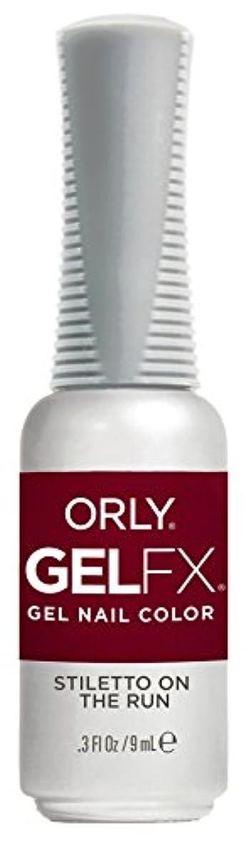 削る自己座標Orly Gel FX - Darlings of Defiance Collection - Stiletto on the Run - 0.3 oz / 9 mL