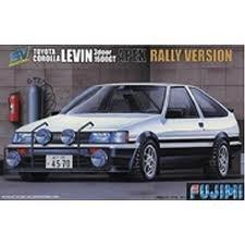 1/24 スペシャルヴィークルシリーズ SV13 トヨタ カローラレビン ラリーバージョン