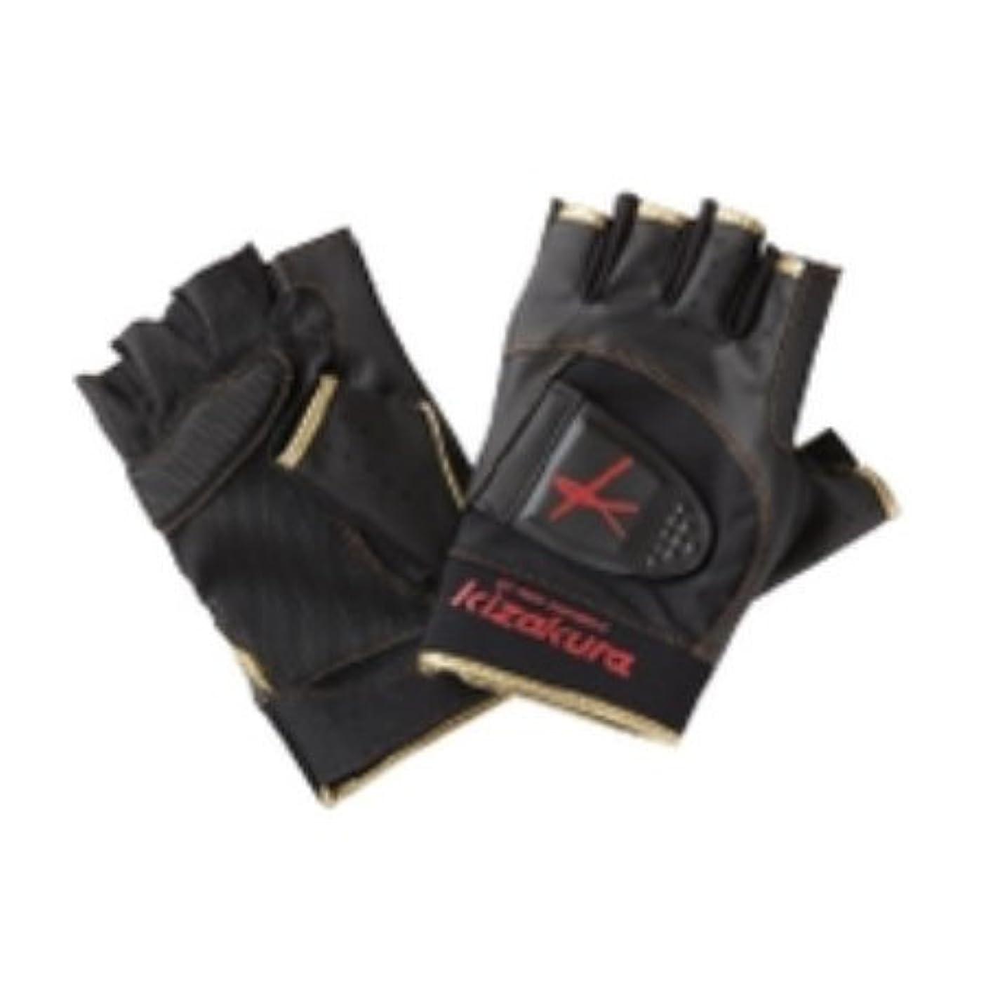 魅力的ガード輝度【KIZAKURA/キザクラ】Kzグローブ Kz-G3 5本カット ウェア グローブ 手袋
