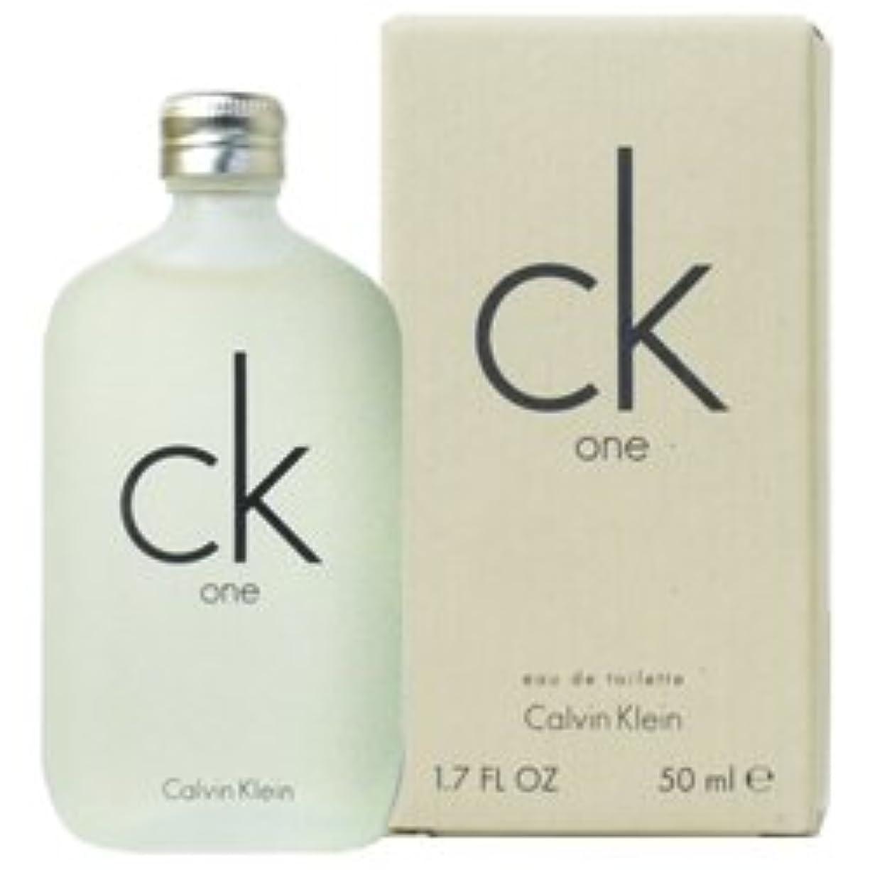 記憶で顔料CK カルバンクライン CK-ONE EDT 50mL 【並行輸入品】