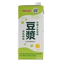 マルサンアイ 有機栽培大豆使用 豆漿 1000ml ×22個     JAN:4901033633455