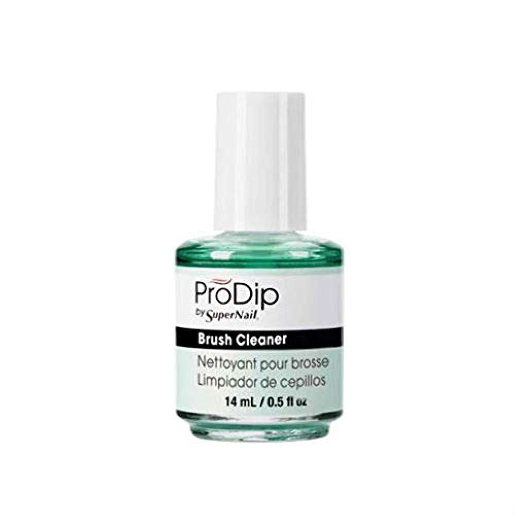 眠りアルカトラズ島好ましいSuperNail ProDip - Brush Cleaner - 14 ml/0.5 oz
