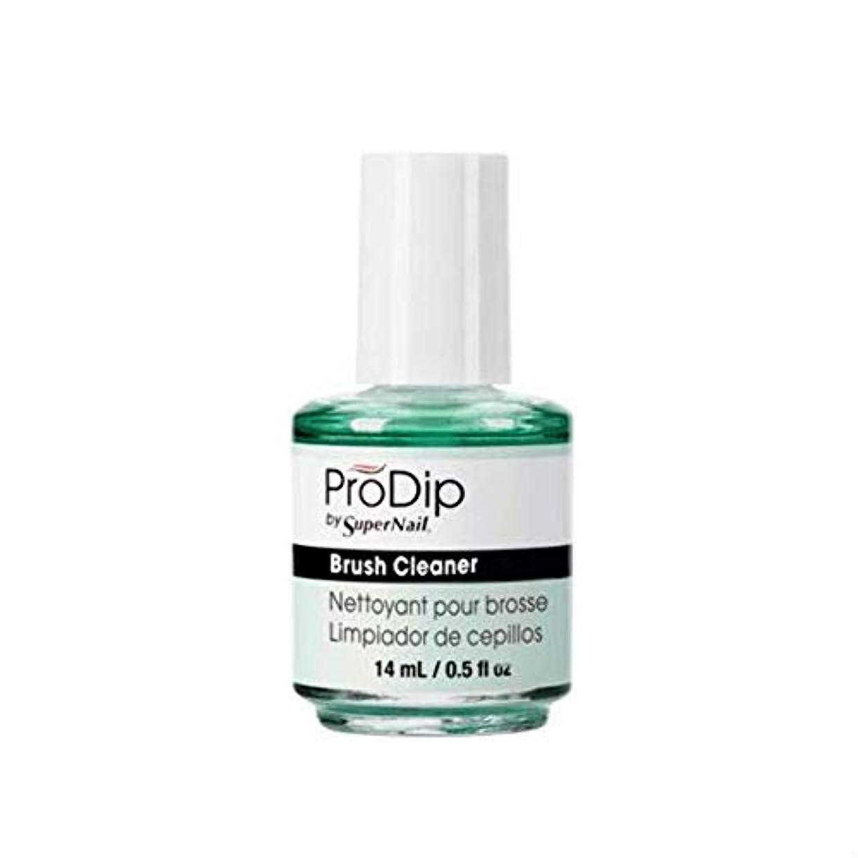 頬骨道しなやかなSuperNail ProDip - Brush Cleaner - 14 ml/0.5 oz