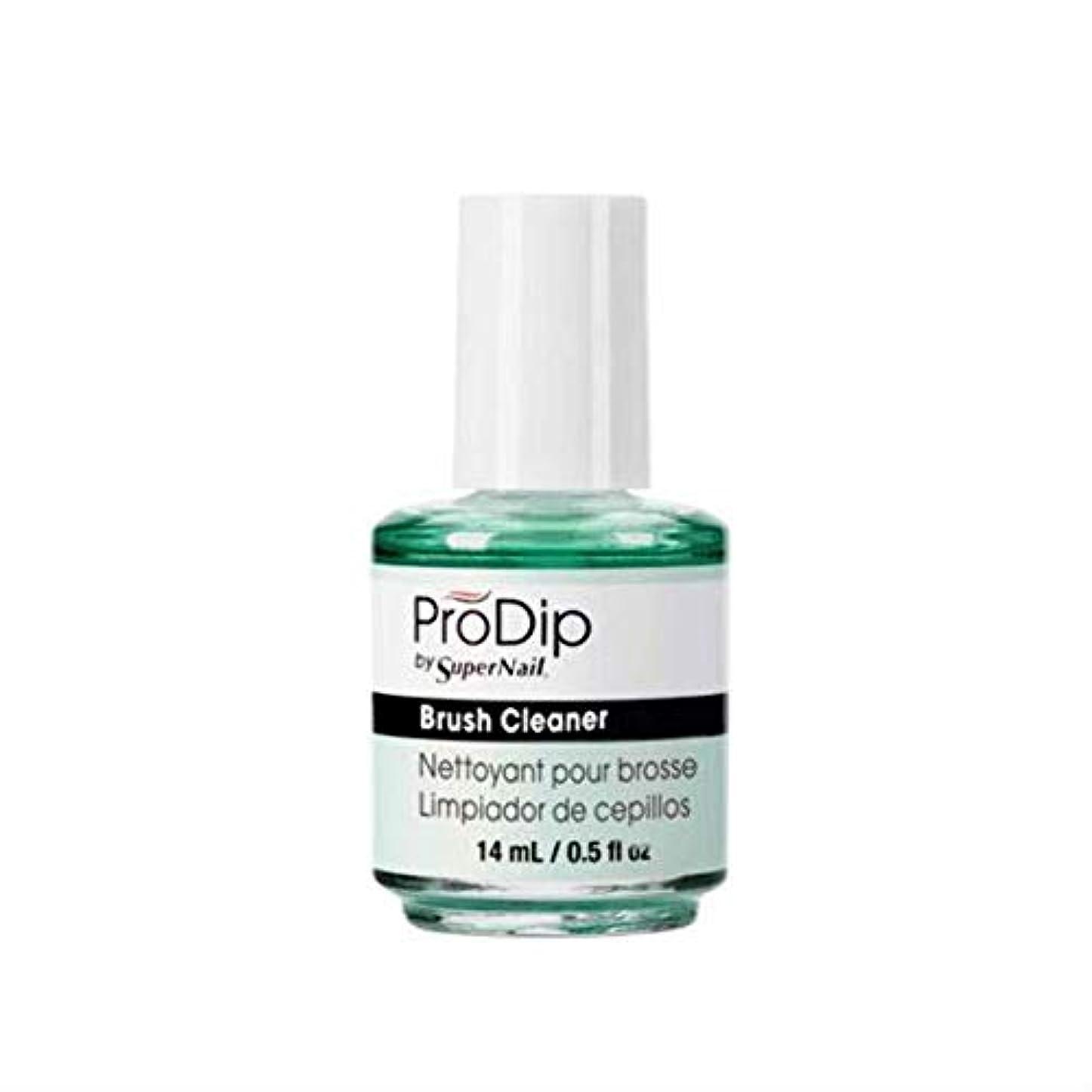 手首短くする教育するSuperNail ProDip - Brush Cleaner - 14 ml/0.5 oz