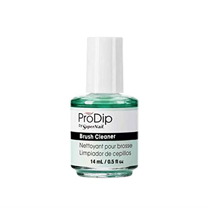 苦悩統治する十分にSuperNail ProDip - Brush Cleaner - 14 ml/0.5 oz