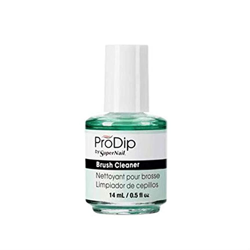 交換要件攻撃的SuperNail ProDip - Brush Cleaner - 14 ml/0.5 oz