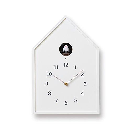Birdhouse Clock NY16-12 WH