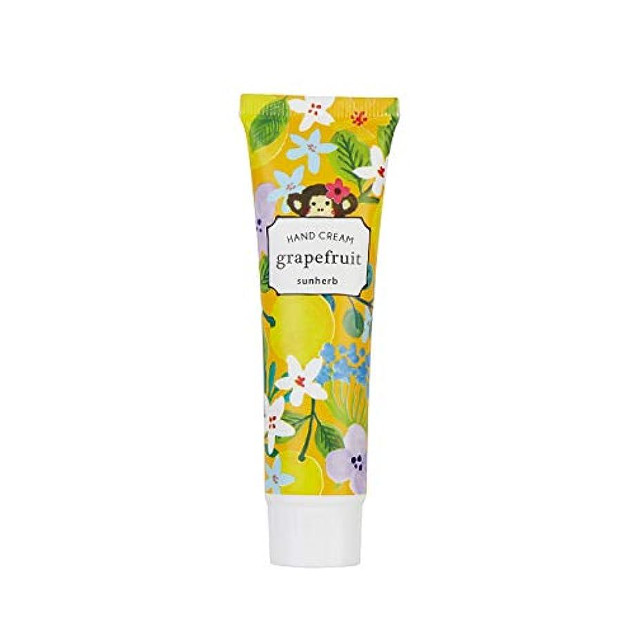 レモンテレビリークサンハーブ ハンドクリーム グレープフルーツ 30mL(手指用保湿 携帯 ご褒美 ギフト 香りを纏う)