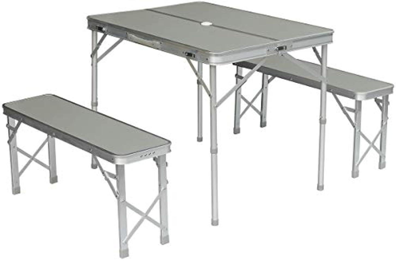 活気づける起きろ陪審Field to Summit アルミセパレートテーブルセット シルバー ST9800SI